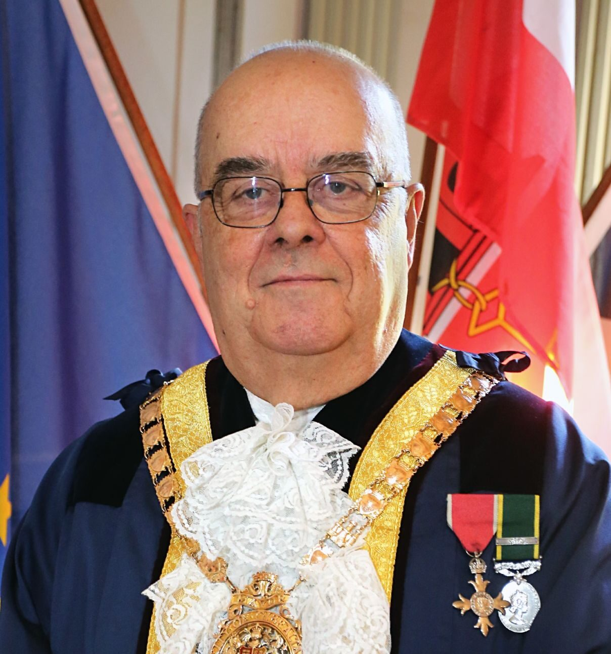 mayor of Gibraltar John Gonçalves MBE GMD